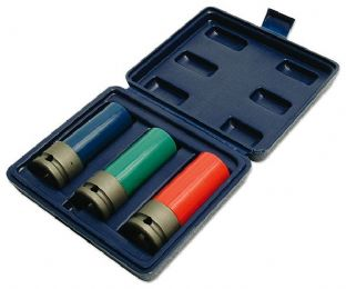 Laser 3039 Wheel Nut Set 3 piece